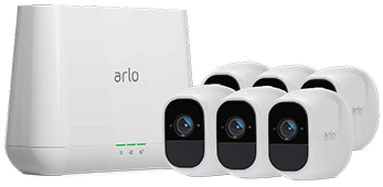 Arlo Pro 2 Smart Security System with 6 Cameras (VMS4630P)